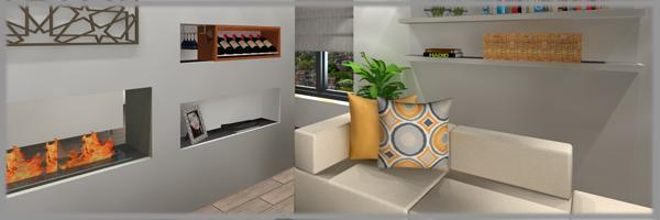 Variálható családi nappali tervezése