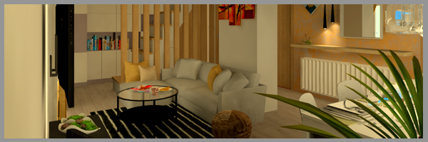 Kis alapterületű lakás tervezése