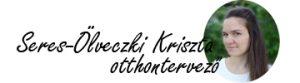 Seres-Ölveczki Kriszta otthontervező, lakberendező