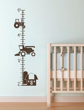 Traktoros magasságmérő gyerekszobába