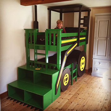 traktoros emeletes ágy