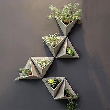 beton fali kaspók