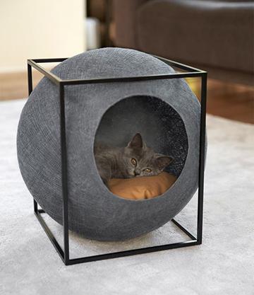 Minimál stílusú cica ágy