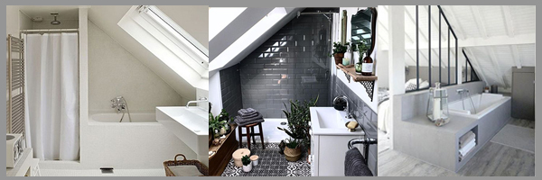 tetőtéri fürdőszoba ötletek
