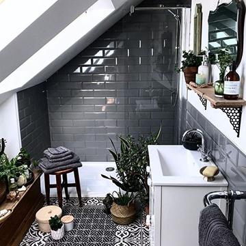 trópusi fürdőszoba
